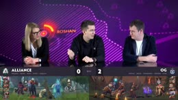 [RU] OG vs Alliance | SL Kiev Minor Quals | by @Casperenush & @KotHunt