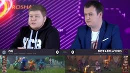 [RU] OG vs Kaban | SL Kiev Minor Quals | CaspeRRR and GodHunt