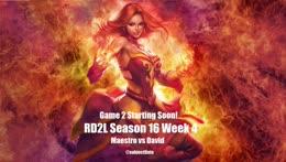 RD2L S16 Week 4 - Maestro vs David - hosted by @subjectDota