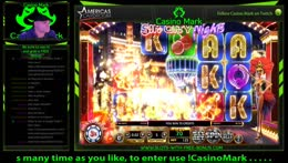 Live Black Jack and  Slots (not sluts) and few beers with Casino Mark  at the Big Dollar Casino!