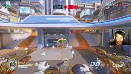 Tracer destroyed by the train, LOL!