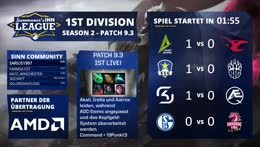 SINN League - Season 2, 1st Division | Spieltag 3 [GER]