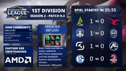 SINN League - Season 2, 1st Division   Spieltag 3 [GER]