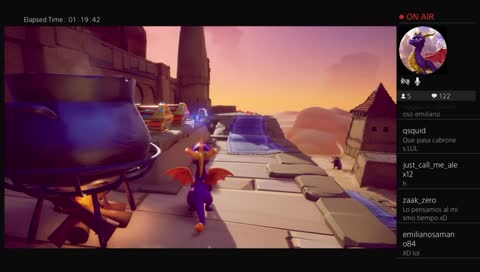 Test stream and Playing Spyro Reignited Trilogy