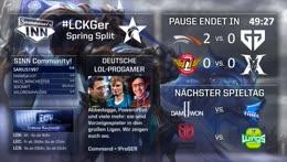 LCK Spring Split | Woche 4, Tag 1 [GER] #LCKGer