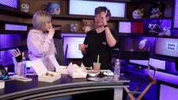 Mukbang with PRO cosplayer, Stella Chu. She'll be transforming me into Hyakkimaru from Dororo over on her channel at 7:00PM PST!