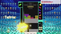 TETRIS 99 played by GRAND MASTERS (75%+ winrate)