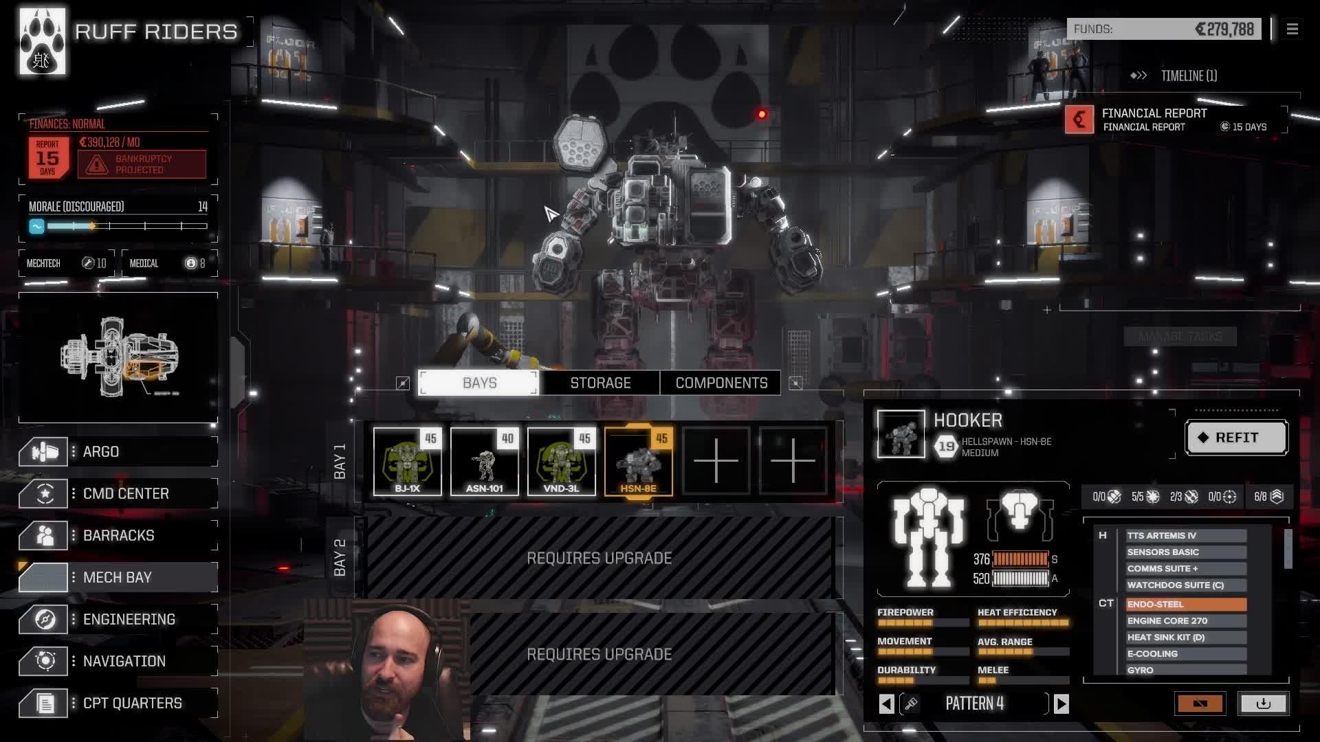 Arumba07 - (Feb 17) Battletech with RogueTech (and drinking