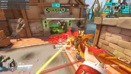 Wild Battle Mercy loses sens for surroundings