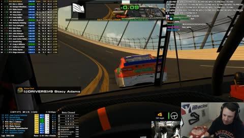 Totally legal - Daytona 500 finish