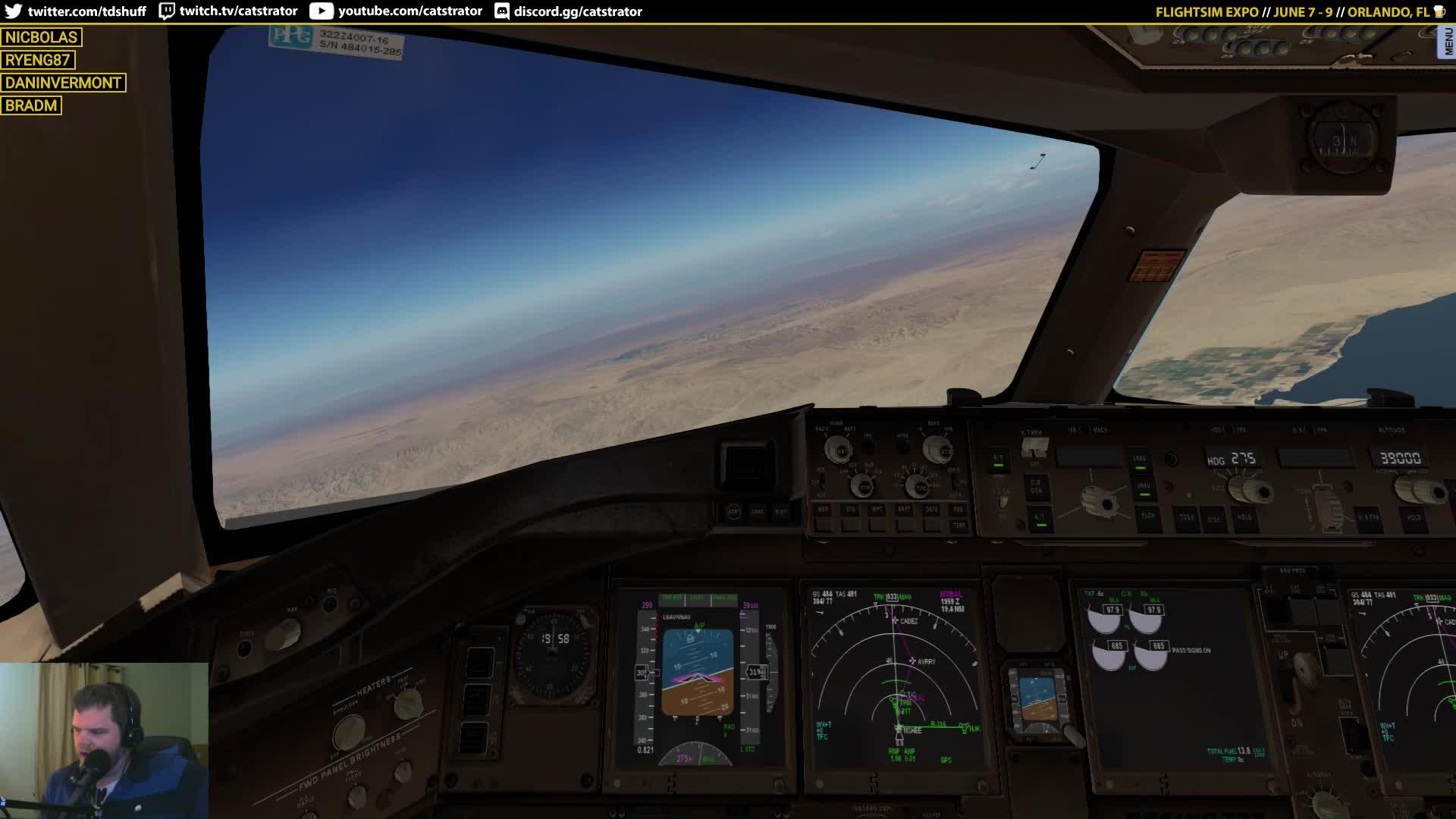 catstrator - Cleared Direct MLF | FlightFactor Boeing 777 Worldliner