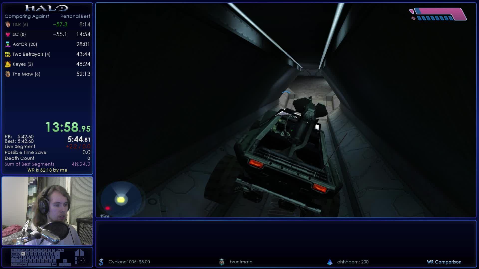 GarishGoblin - Halo Legendary !hunter% Speedruns w/ Garish
