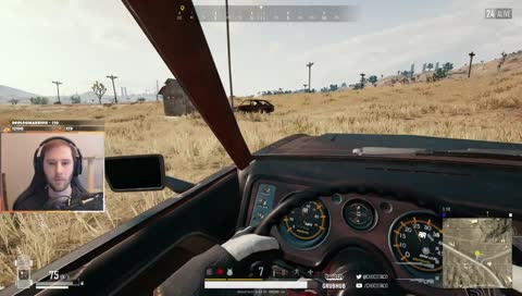 Armored UAZ vs Choco vs Choco himself