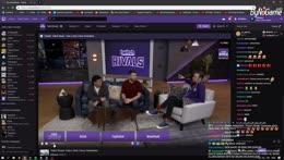 Twitch Rivals Turnuvası günü (Maç arası, İlk Maç: Win)
