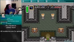 A Link to the Past | OHKO Mini Moldorm 2x Speed Hack | Racin with fellow idiots | !multi