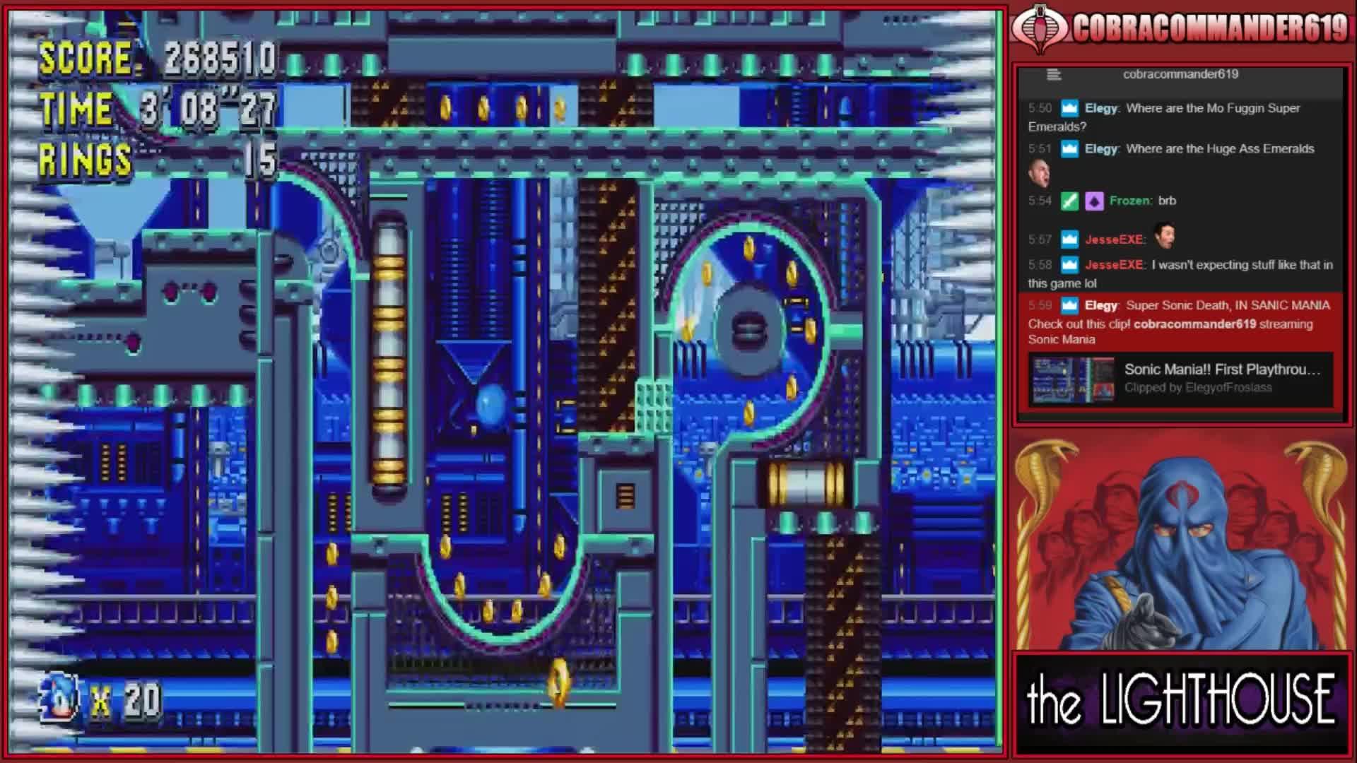 Sonic Mania!! First Playthrough! - Twitch