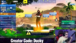 samsung tournament practice (ikonik skin gameplay) | Creator Code: Ducky