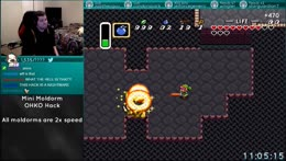A Link to the Past | Mini Moldorm OHKO Hack continuation with Ivan and Fouton | !multi !minimold