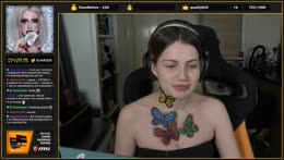 <Method> Let's do some face and body paint ^_^ - butterfly themed