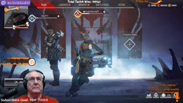 APEX TIME -  New Players Welcome! - Retired, Extremely Dangerous chilling on Twitch