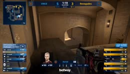 RERUN: ENCE vs Renegades [Mirage] Map 2 Ro3 - Challengers Stage - IEM Katowice 2019