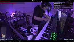 Live learnt loops and piano requests with TMKOT
