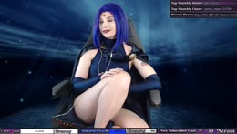 🌟 Raven cosplay + Chats   Trivia later!