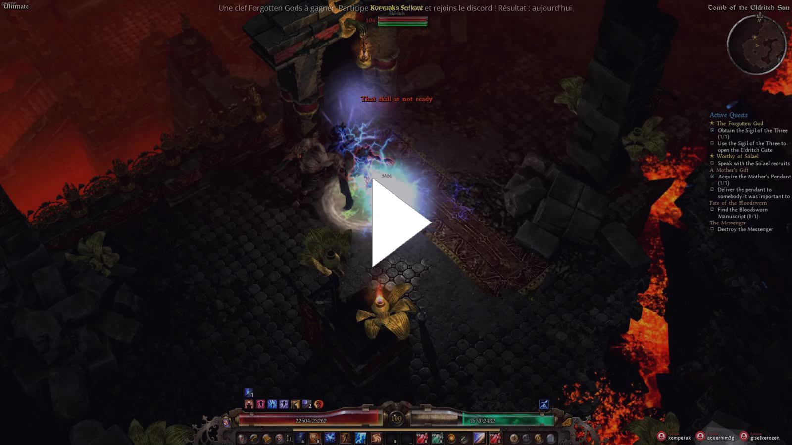 Exzyen - [FR] Forgotten Gods ensemble ! - Twitch
