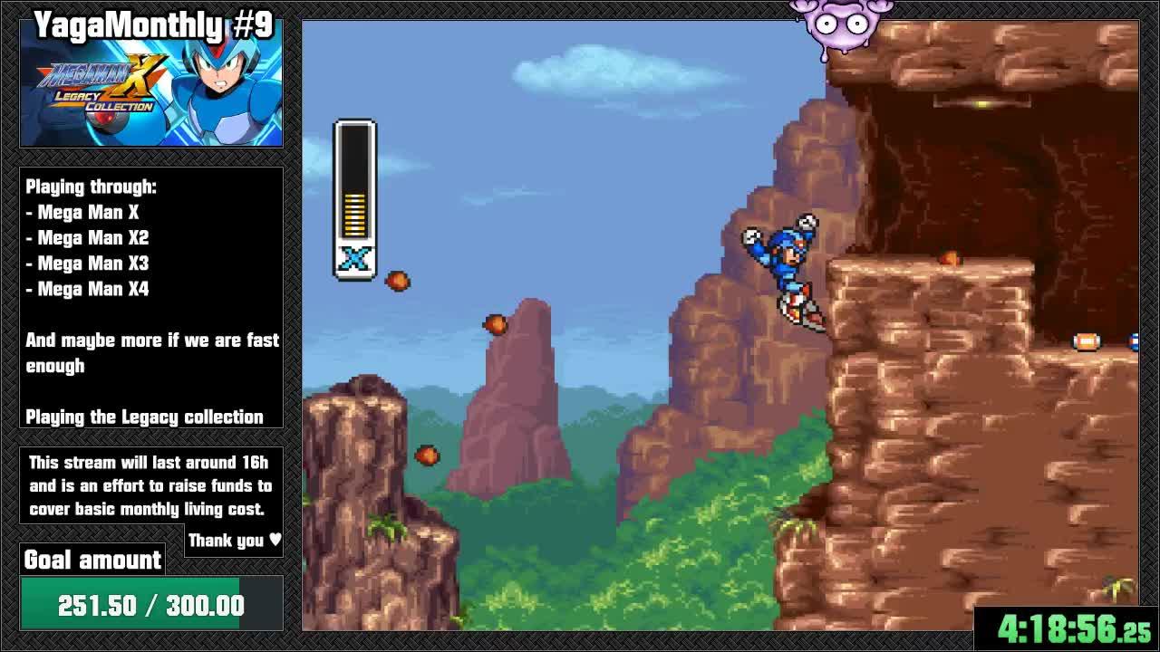 Yagamoth - YagaMonthly #9 - Mega Man X || !YagaMonthly - Twitch
