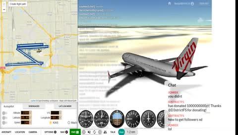 Flight Simulation | Most Viewed - Month | LivestreamClips