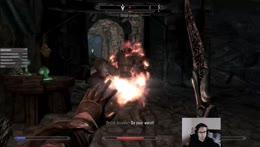 RiotAugustUwU - playing Skyrim.  I hate Dargor