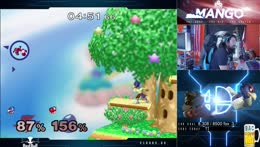 Mang0 goes out in a blaze of glory!!!! The Mang0!!!