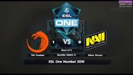 [LIVE-THAI] 🏆ESL One Mumbai 2019 - 17/04/19 - Cyberclasher