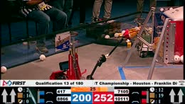 FIRST Championship - FIRST Tech Challenge - Houston - Franklin Field