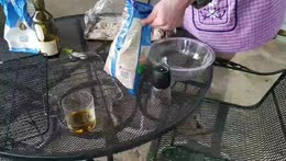 Cooking Pickle Fried Chicken on Porch   !recipe