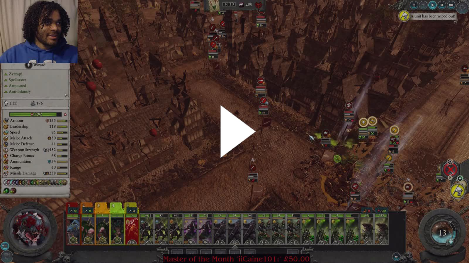 Arkcard Twitch Playing warhammer 2 as nakai the wanderer on legendary difficulty. arkcard twitch