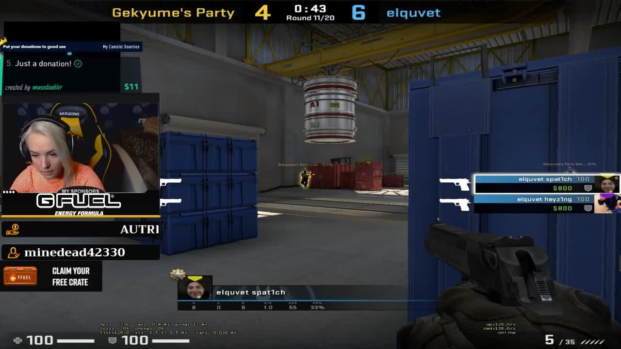 Carms - ✨Hosting & playing 2v2 tournament w/ tenzki ✨!SLIVER - Twitch