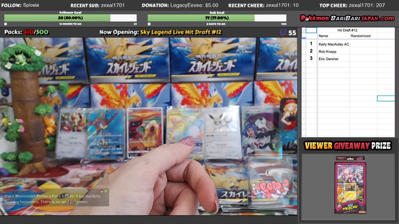 PokemonBariBariJapan - Pokemon BariBari Japan Live - Twitch
