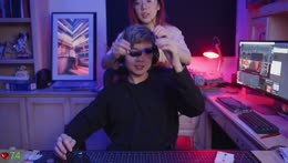 unboxing new glasses then watching magic trick videos for research   !ctrlzap [on]