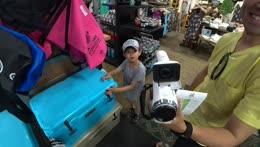 Gunrun backpack live streams from Honolulu Hawaii