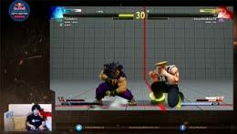 「Street Fighter V」ヒットボックスでプレイします