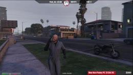 Eddie hit by car