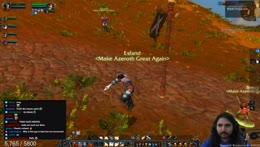 Esfand kills a gnome