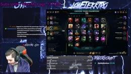 LOLELEKKTRO | Road To Masters Begins | Barrel Roll 4 Subs