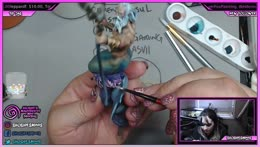 ShoshiesMinis - Shoshie is painting a Captain Ahab Bust from Scale75