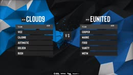 [PT-BR] ESL Pro League 2019 | America | Dia 15 | eUnited vs. Cloud9