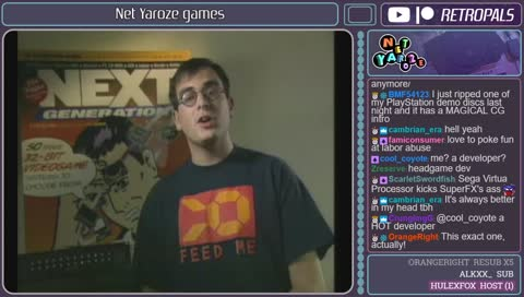 Net yaroze games
