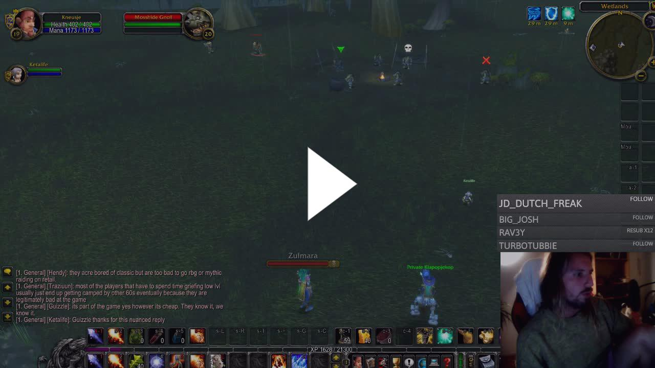 cloudym1nd - Classic Wow (private servers) fake & gey