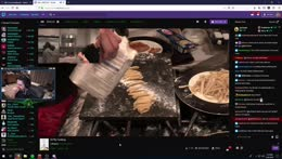Pasta with some spit? Pog