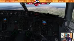 Flyboy29021992 - X Plane flying on VATSIM in a nutshell - Twitch